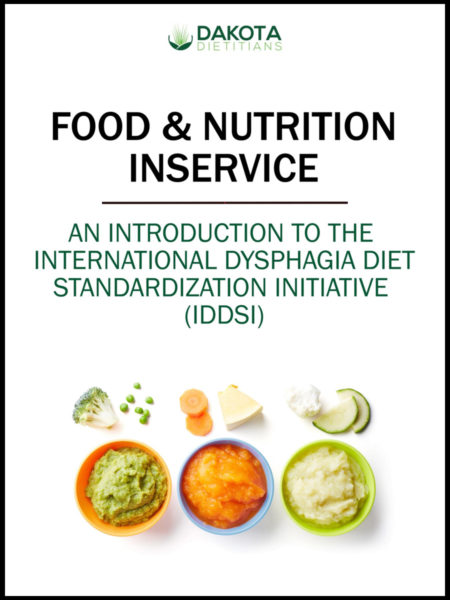 Introduction IDDSI Cover